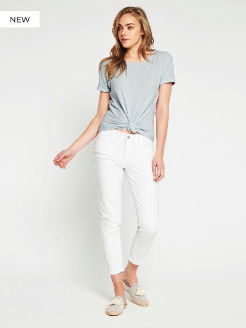 Mavi Emma White Str