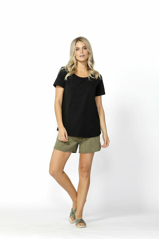 Betty Basics Demi Scoop Tee