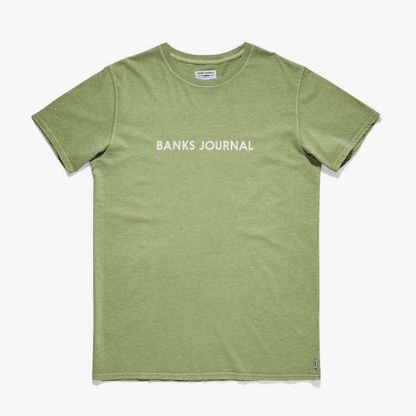 Banks Journal Label Faded Tee