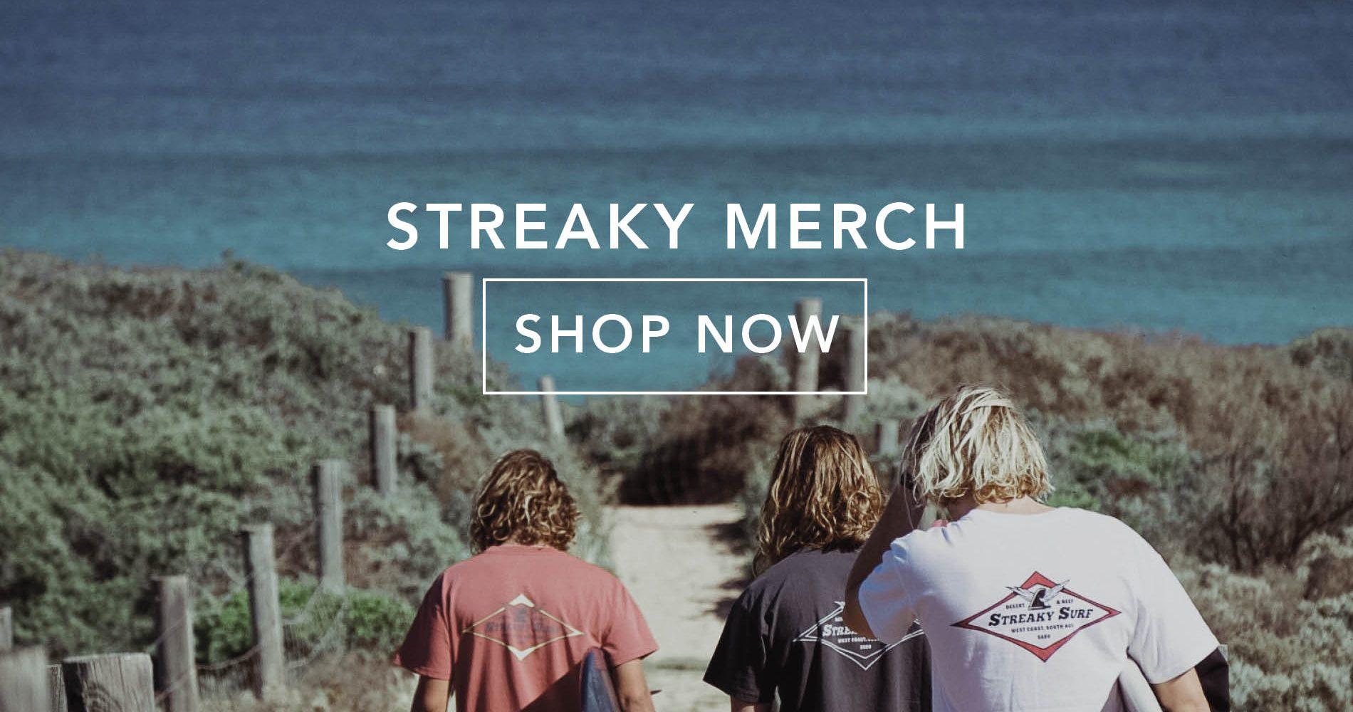 streaky merch