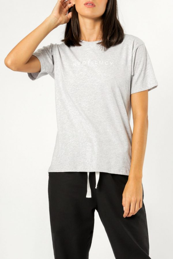 Nude Lucy Nude Lucy Slogan Tee
