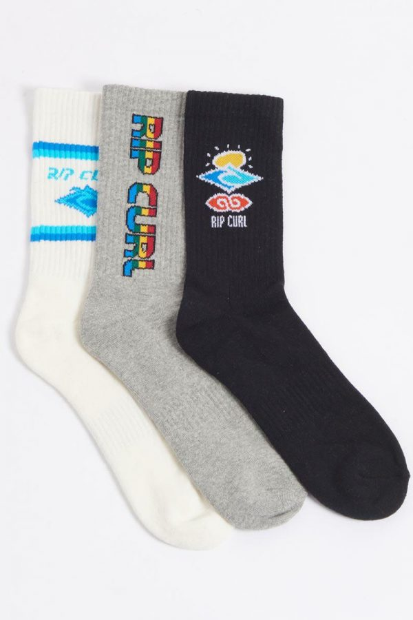 Ripcurl Icons Sock 3-PK-BOY