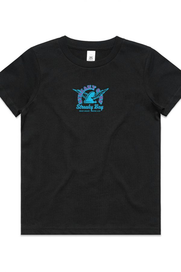 Streaky Surf Retrowing Kids Black Tee