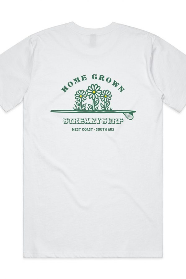 Streaky Surf Homegrown White Tee
