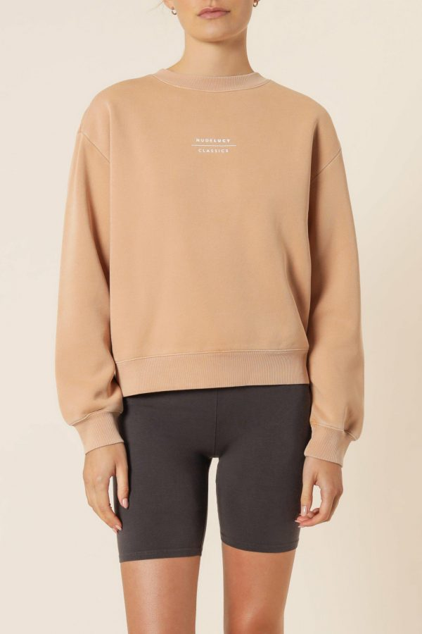 Nude Lucy Nude Classic Slogan Sweat