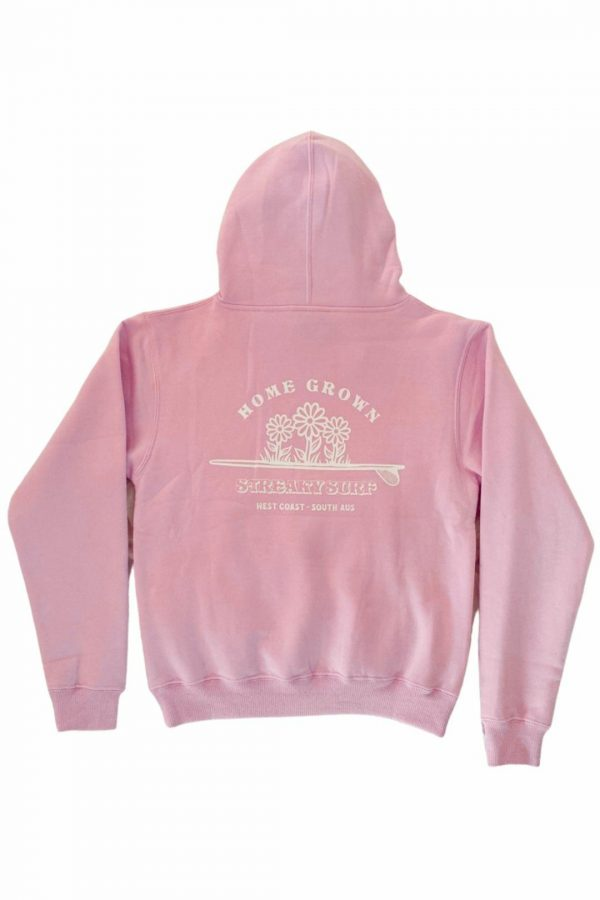 Streaky Surf Homegrown Pink Kids Hood