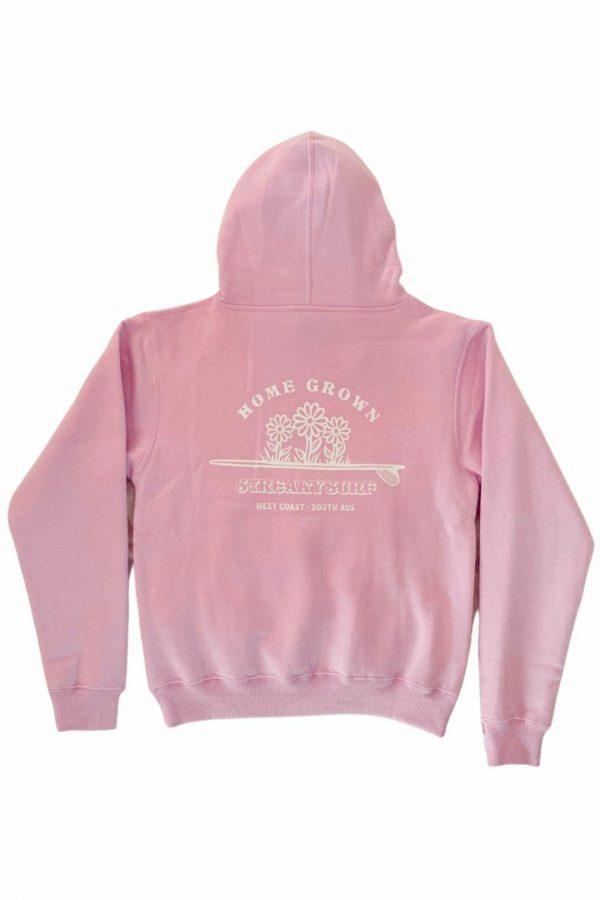 Streaky Surf Homegrown Pink Kids Hood