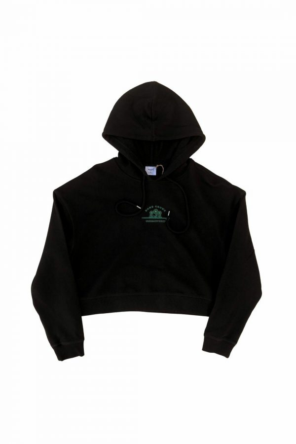 Streaky Surf Homegrown Crop Black Hood
