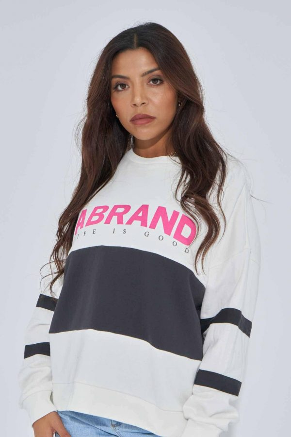 Abrand a Oversized Panel Sweater