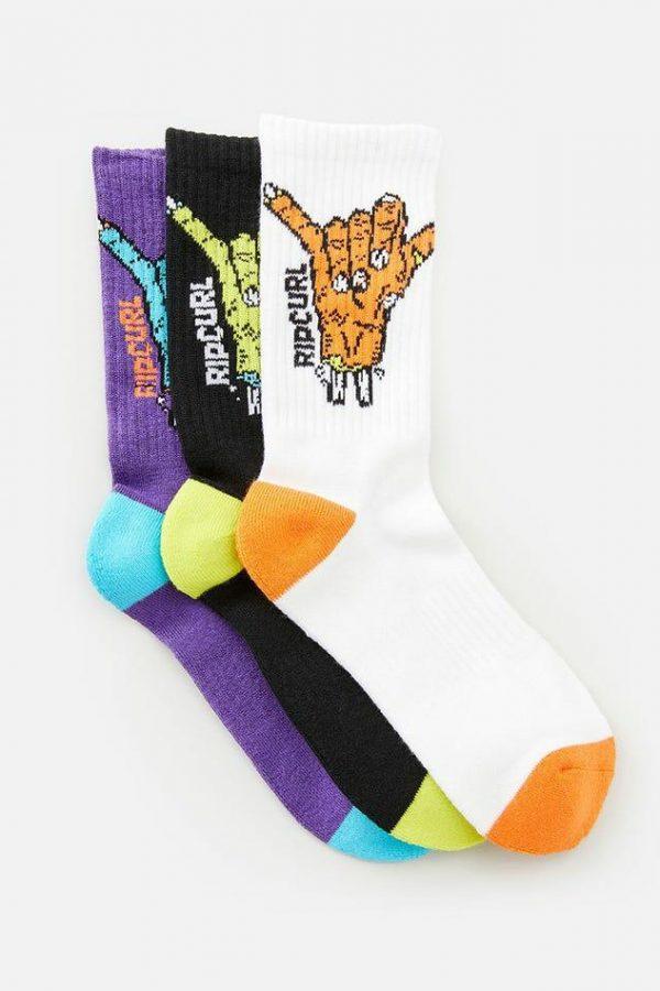 Ripcurl Shaka Sock 3-PK-BOY