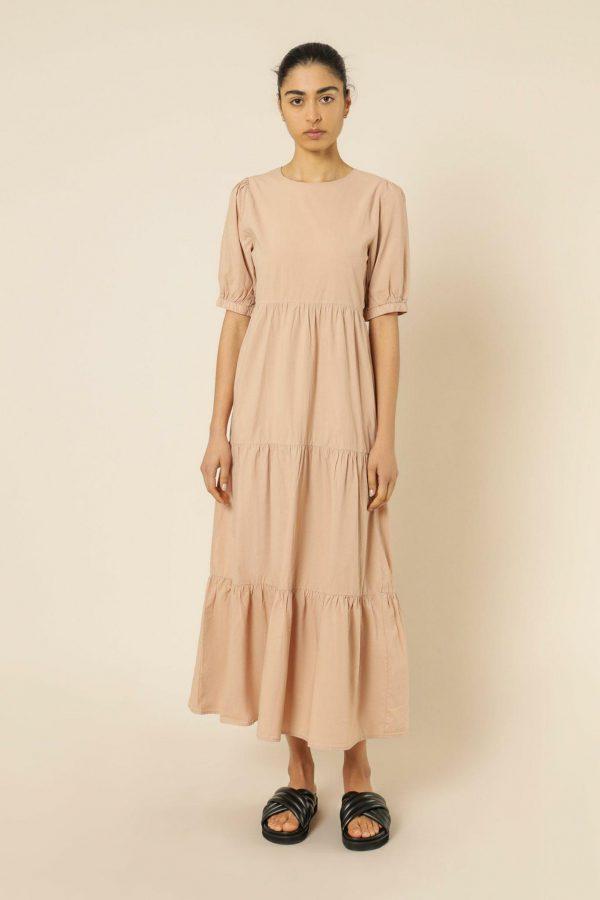 Nude Lucy Stella Poplin Maxi Dress