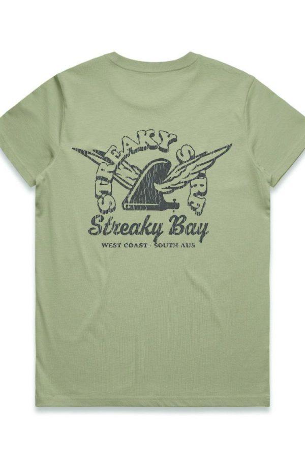Streaky Surf Maple Retrowing Pistachio