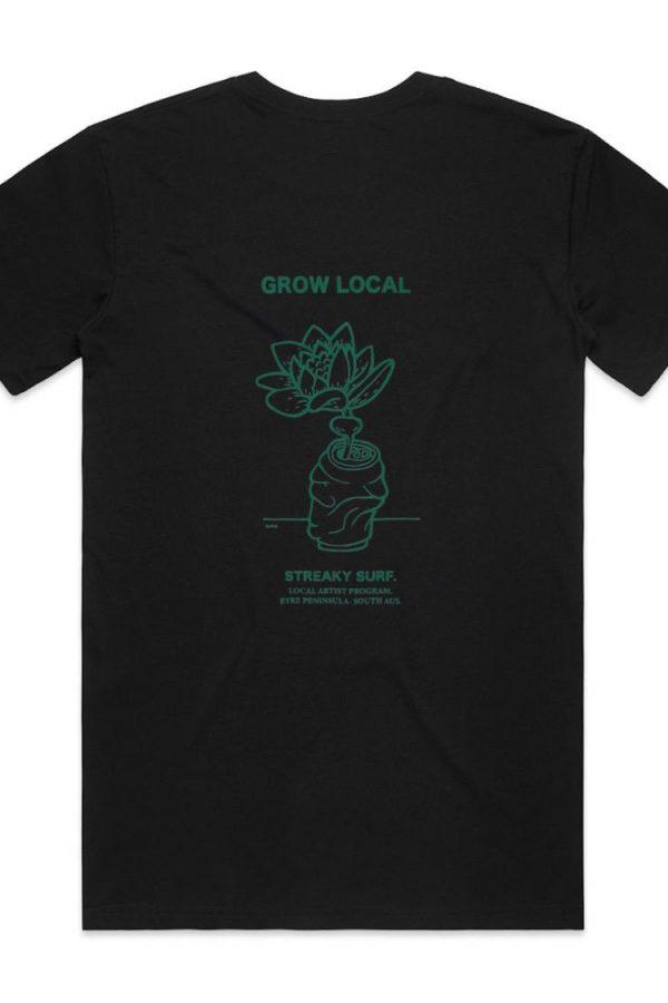 Streaky Surf Grow Local Organic Tee